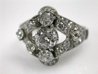 66984-April/Diamond Engagement Ring Cynthia Findlay Antiques CFA1203198