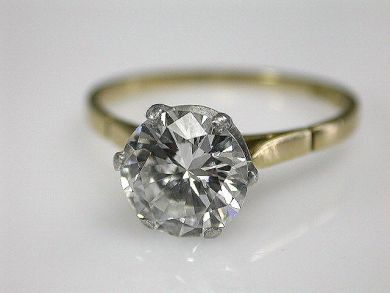 66984-April/Diamond Solitaire Cynthia Findlay Antiques CFA1203190