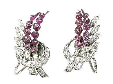 Ruby Earrings by Birks