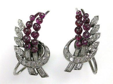 Ruby Earrings by Birks