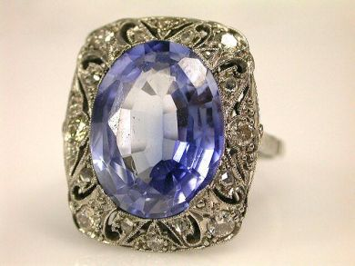66984-April/Sapphire Ring Cynthia Findlay Antiques CFA1201253
