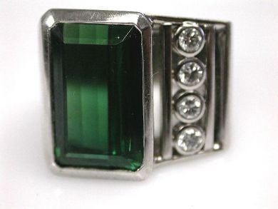66984-April/Tourmaline Ring Cynthia Findlay Antiques CFA1203200
