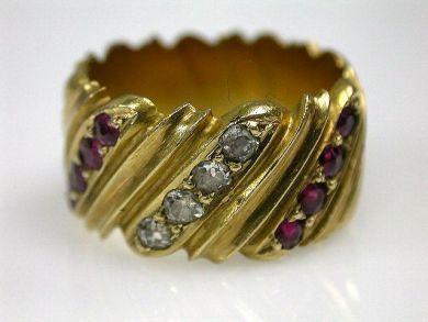 67061-March/Gold Band Cynthia Findlay Antiques CFA1202146