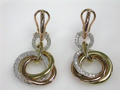 67061-March/Gold Earrings Cynthia Findlay Antiques CFA120333