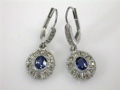 67061-March/Sapphire Drops Cynthia Findlay Antiques CFA120340