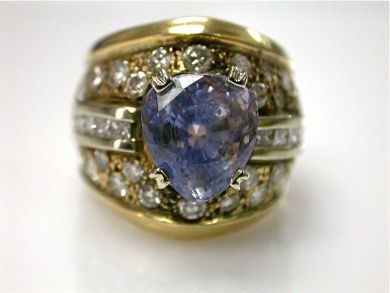 67061-March/Sapphire Ring Cynthia Findlay Antiques CFA1202318