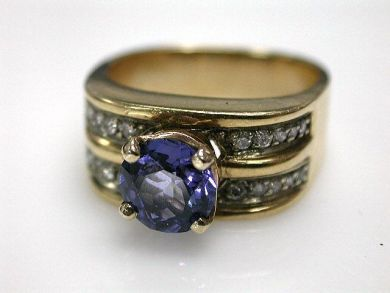 67061-March/Tanzanite Ring Cynthia Findlay Antiques CFA1202315