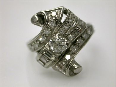 67062-March/Retro Diamond Ring Cynthia Findlay Antiques CFA1202177