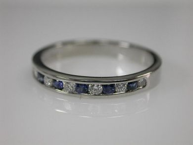 67062-March/Sapphire and Diamond Band Cynthia Findlay Antiques CFA1202226