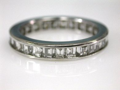 67398-October/Baguette Eternity Band Cynthia Findlay Antiques CFA120691