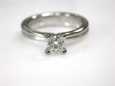 67398-October/Birks Diamond Solitaire Engagement Ring Cynthia Findlay Antiques CFA1206119