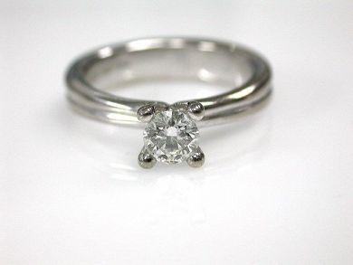 Birks Diamond Solitaire Engagement Ring