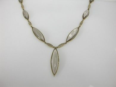 67398-October/Crystal Necklace Cynthia Findlay Antiques CFA1206116