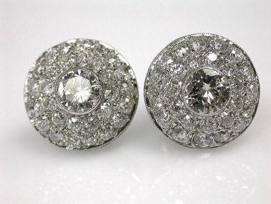 67398-October/Diamond Earrings Cynthia Findlay Antiques CFA1204211