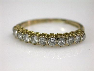 67398-October/Diamond Eternity Band Cynthia Findlay Antiques CFA120674