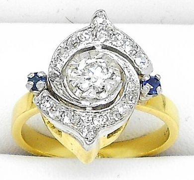 67398-October/Diamond Swirl Ring Cynthia Findlay Antiques 042312 4
