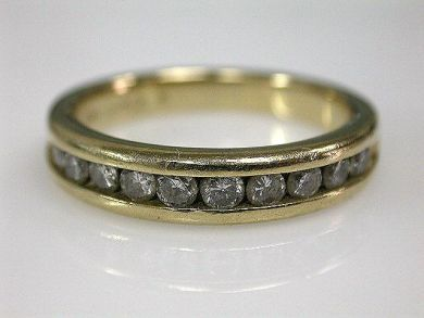 67398-October/Half Eternity Band Cynthia Findlay Antiques CFA120689