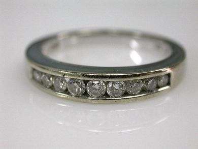 67398-October/Half Eternity Band Cynthia Findlay Antiques CFA120690