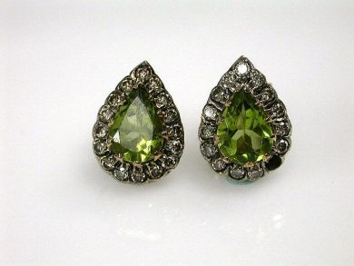 67398-October/Peridot Earrings Cynthia Findlay Antiques CFA120640C