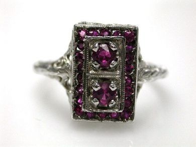 67398-October/Pink Sapphire Ring Cynthia Findlay Antiques CFA1204173
