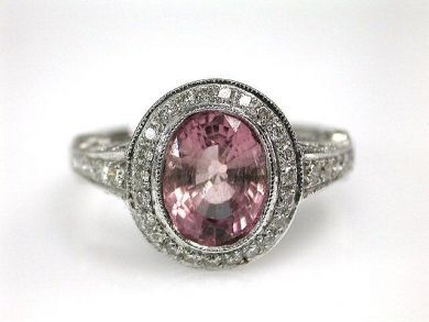 67398-October/Pink Tourmaline Ring Cynthia Findlay Antiques CFA1204240