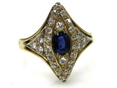 67398-October/Sapphire Ring Cynthia Findlay Antiques CFA1204161
