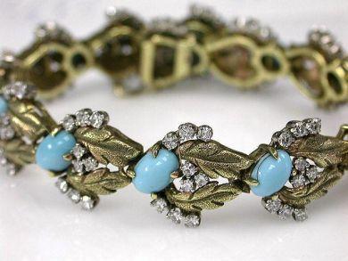 67398-October/Turquoise Bracelet Cynthia Findlay Antiques CFA120463