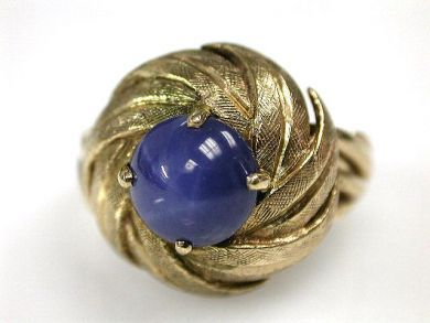 67425-April /Birks Sapphire Ring Cynthia Findlay Antiques CFA1205205