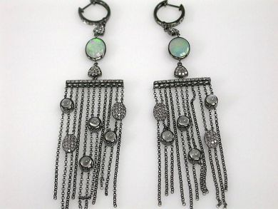 67425-April /Chandelier Earrings Cynthia Findlay Antiques CFA120466