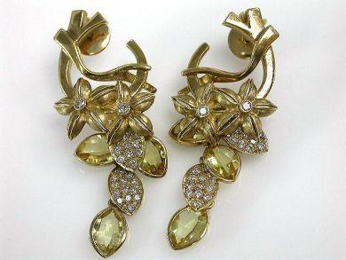 67425-April /Citrine Earrings Cynthia Findlay Antiques CFA1205150