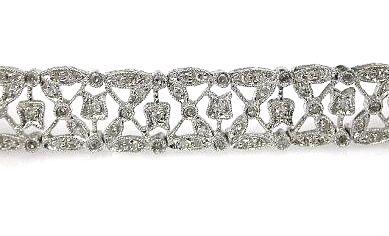 Diamond Lace Bracelet