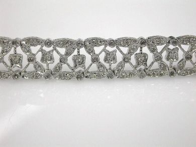67425-April /Diamond Lace Bracelet Cynthia Findlay Antiques CFA1205153