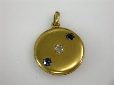 67425-April /Gold Locket Cynthia Findlay Antiques CFA1205172