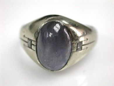 67425-April /Purple Sapphire Ring Cynthia Findlay Antiques CFA120582