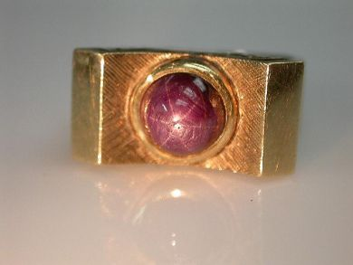 67425-April /Star Sapphire Ring Cynthia Findlay Antiques CFA1205239 1