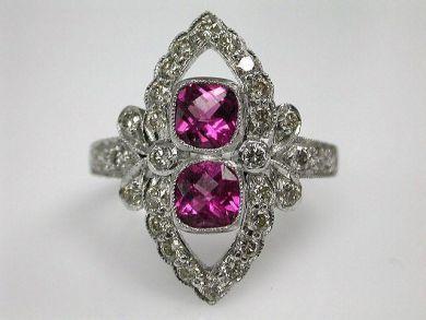 67425-April /Tourmaline Ring Cynthia Findlay Antiques CFA1205174 1