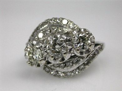 67700-June/Diamond Cluster Cynthia Findlay Antiques CFA1206140