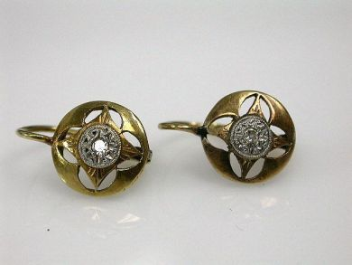 Antique Diamond Earrings