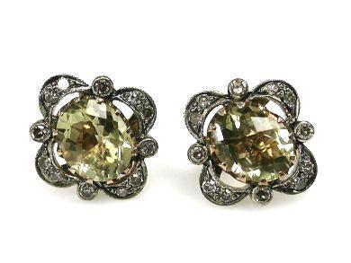 Prasiolite Earrings