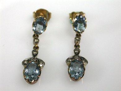 67711-June /Aquamarine Earrings Cynthia Findlay Antiques CFA1205311