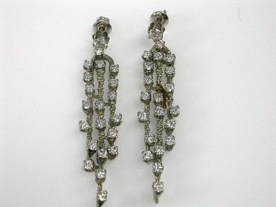 67711-June /Chandelier Earrings Cynthia Findlay Antiques cfa1205297