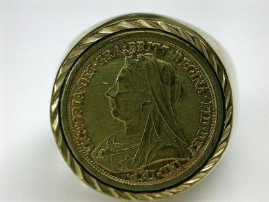 Queen Victoria Coin Ring