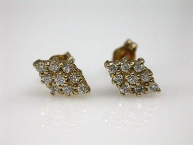 67711-June /Diamond Earrings Cynthia Findlay Antiques CFA1205295