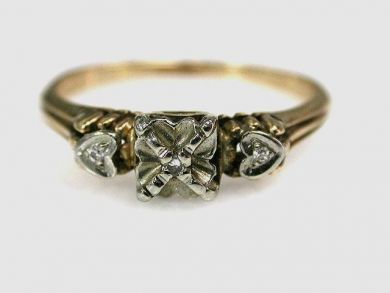 67711-June /Diamond Ring Cynthia Findlay Antiques CFA1205370