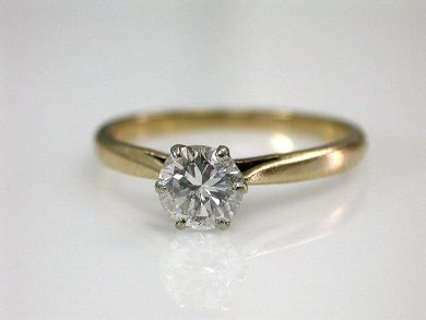 67711-June /Diamond Solitaire Cynthia Findlay Antiques CFA1205300