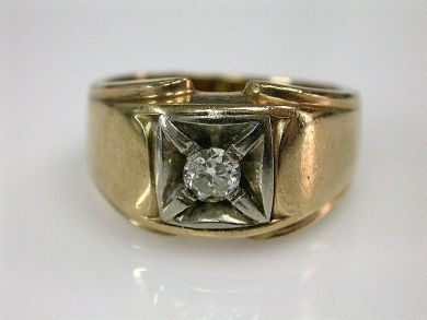67711-June /Diamond Solitaire Cynthia Findlay Antiques CFA1205329