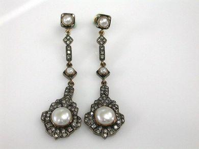 67711-June /Pearl Earrings Cynthia Findlay Antiques CFA1205310