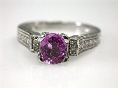 67711-June /Pink Sapphire Ring Cynthia Findlay Antiques CFA1205296