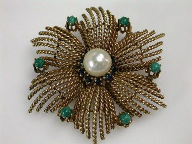 67711-June /Spray Brooch Cynthia Findlay Antiques CFA1205414