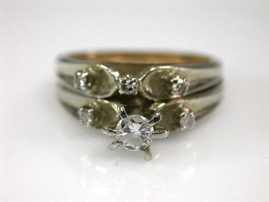 67711-June /Wedding Ring Set Cynthia Findlay ANtiques CFA1205319